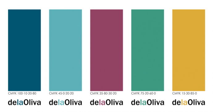 colores corporativos delaOliva