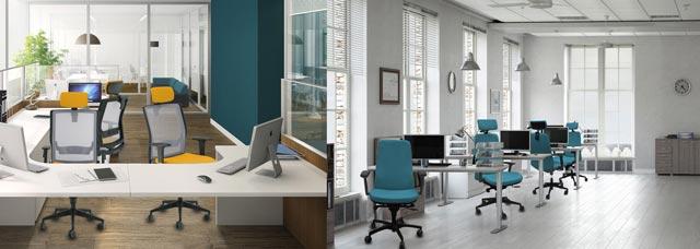 Tipos de silla para cada espacio de oficina for Tipos de sillas de oficina