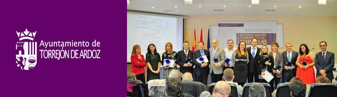 Delaoliva reconocimiento al compromiso de las empresas for Oficina de empleo de torrejon de ardoz