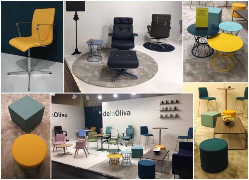 Stand delaOliva con nuevos productos Atenea y Dubai