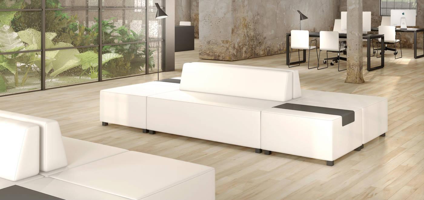 Sillas y muebles de oficina para proyectos contract y salas de espera delaoliva