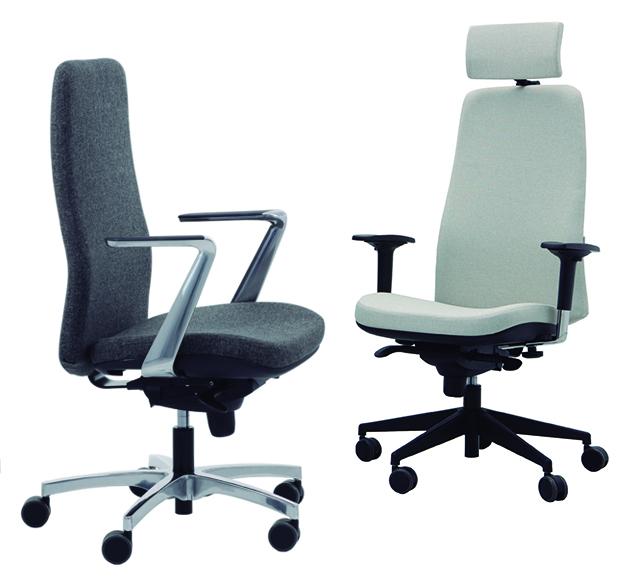 Serie Wing - sillas operativas para oficinas - delaoliva