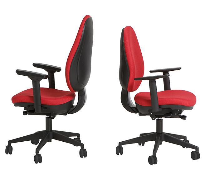 Silla operativa de oficina modelo confort delaoliva