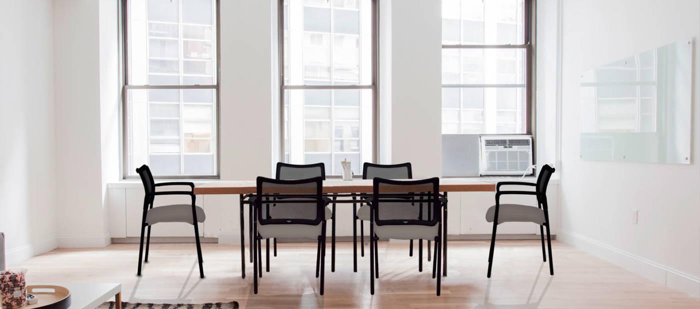silla de visita o reuniones Light 17 delaoliva
