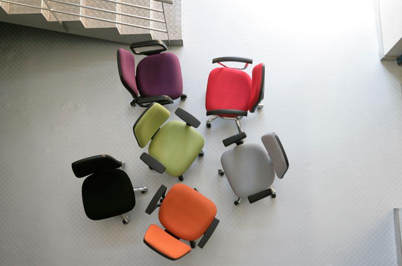 Serie Protos - delaoliva - Colección de sillas operativas