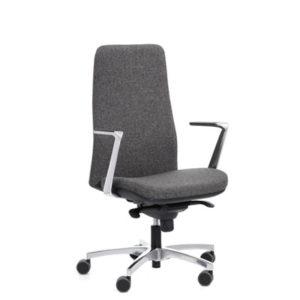 Colección de sillas operativas Wing 9.900-RAY Respaldo Alto - delaoliva