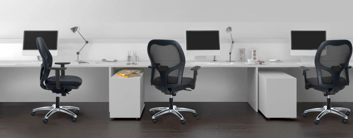 SERIE WORK. Silla ergonómica para oficina y home-office. - delaoliva