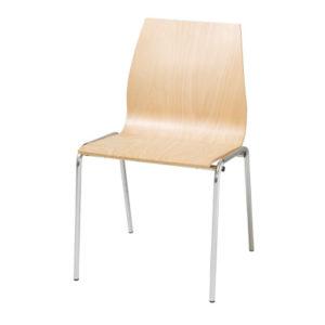 Silla Square 90 F madera - Sillas Colectividades y Multiusos delaoliva