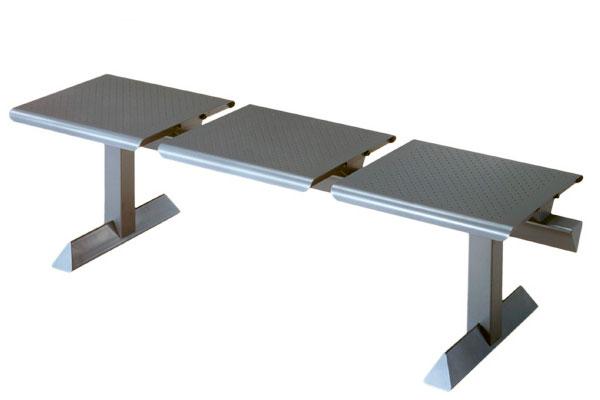 Fantoni 3 plazas asiento - delaoliva