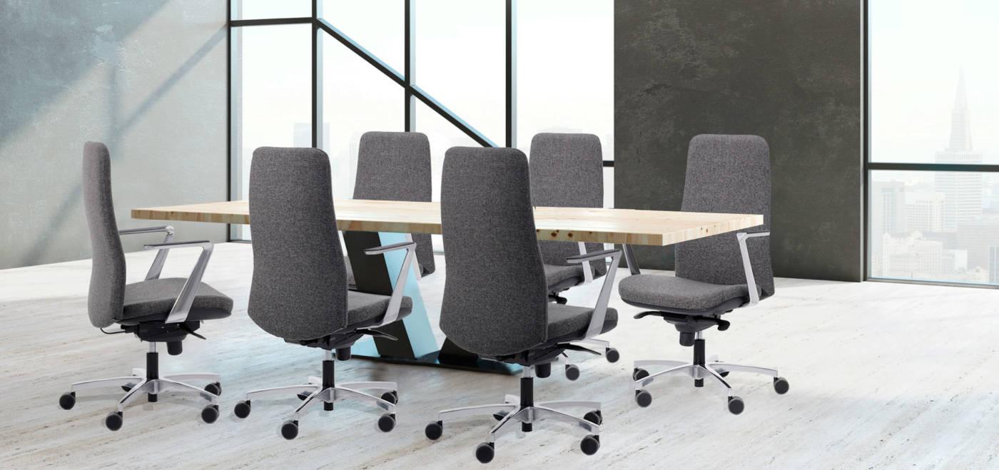 Wing delaoliva Colección de sillas operativas ergonómicas para todo tipo de puestos de trabajo.
