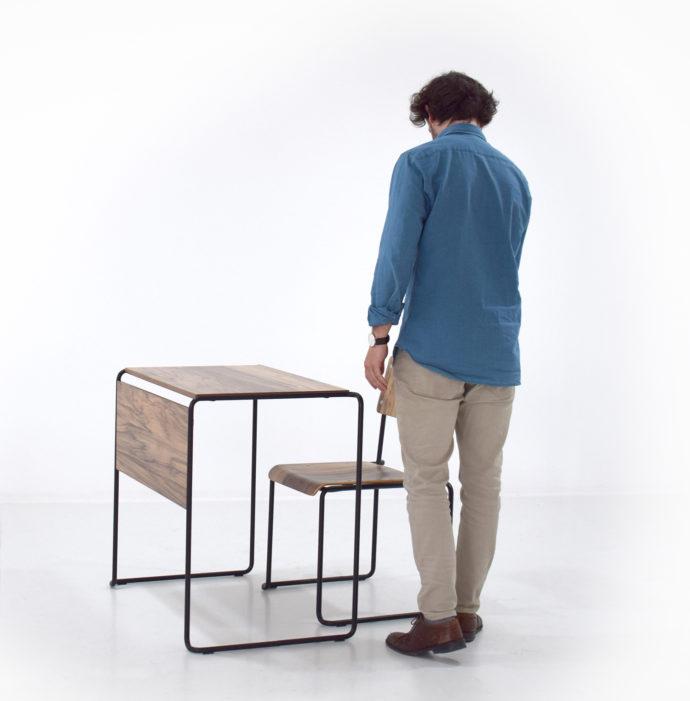 Nuevo mobiliario escolar. Pupitre