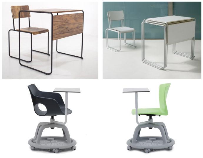 Nuevo concepto de mobiliario escolar