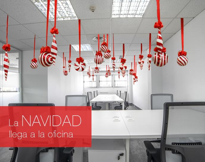 Ideas originales para decorar tu oficina esta navidad - Decoracion de navidad para oficina ...