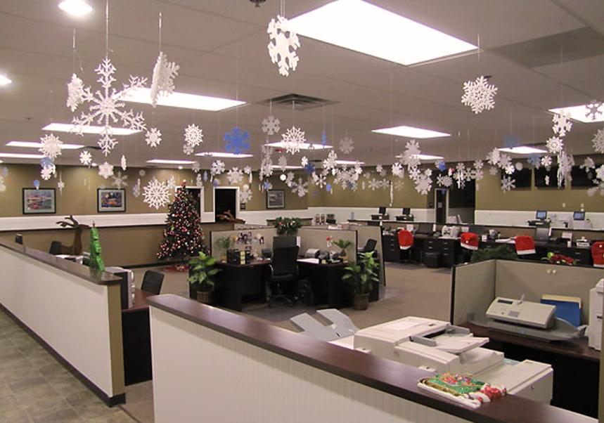 Ideas Originales Para Decorar Tu Oficina Esta Navidad